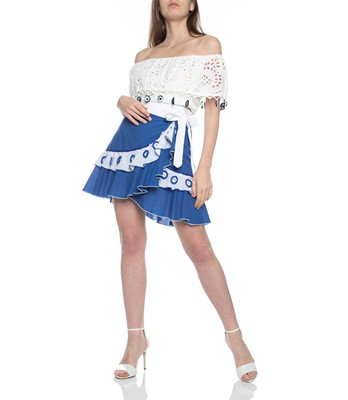 Picture of Wrap Mini Skirt