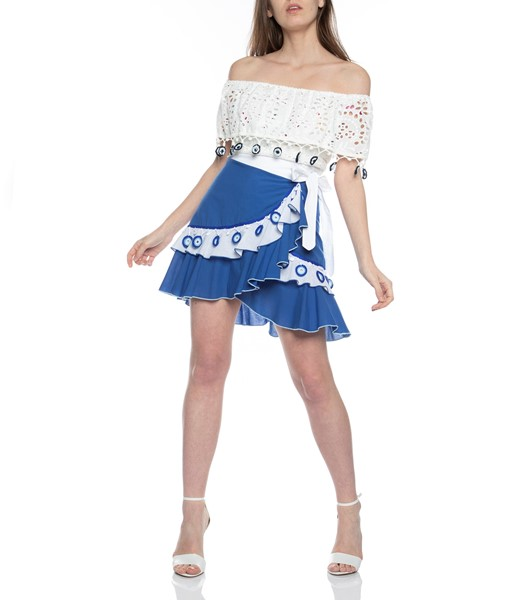 Picture of Wrap Mini Skirt, Picture 2