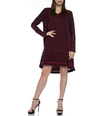 Picture of Dress 1-V long Sleeves