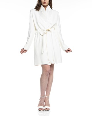 Picture of High Collar Trench Coat