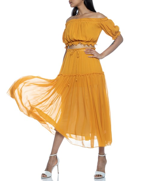 Picture of DOLCE ACCORDION MIDI SKIRT, Picture 4