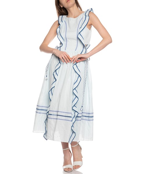 Picture of TEXTURED VOILE RAEL DRESS, Picture 2