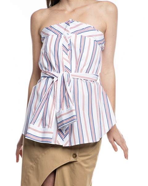Picture of STRIPE STRAPLESS BUSTIER, Picture 3