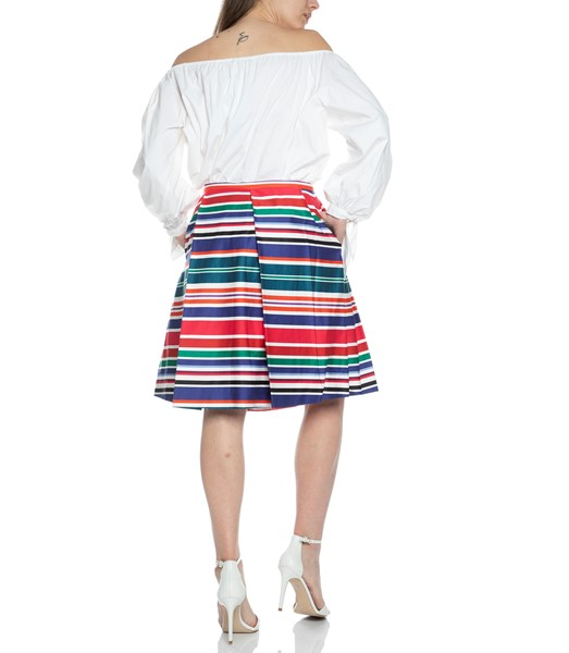 Picture of ASYMMETRICAL CABANA STRIPE SKIRT, Picture 5