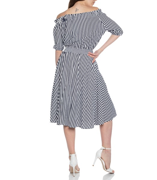 Picture of SLIM SMOCKED DRESS, Picture 7