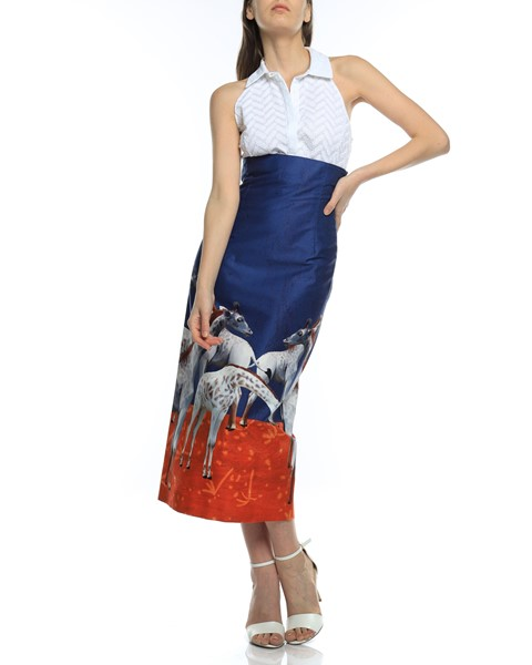 Picture of HIGH WAIST MIDI PENCIL SKIRT, Picture 1