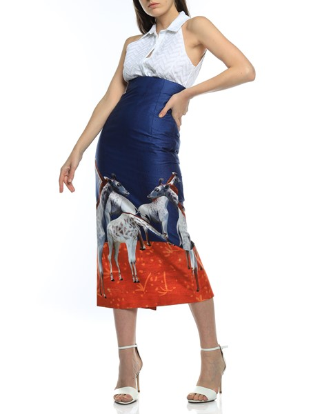 Picture of HIGH WAIST MIDI PENCIL SKIRT, Picture 2
