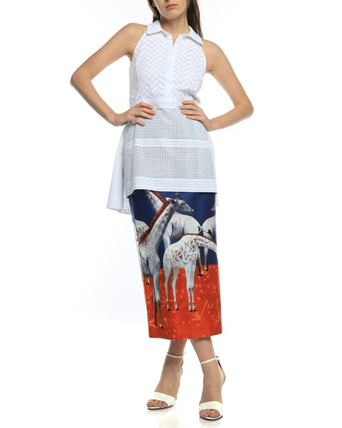 Picture of HIGH WAIST MIDI PENCIL SKIRT, Picture 5