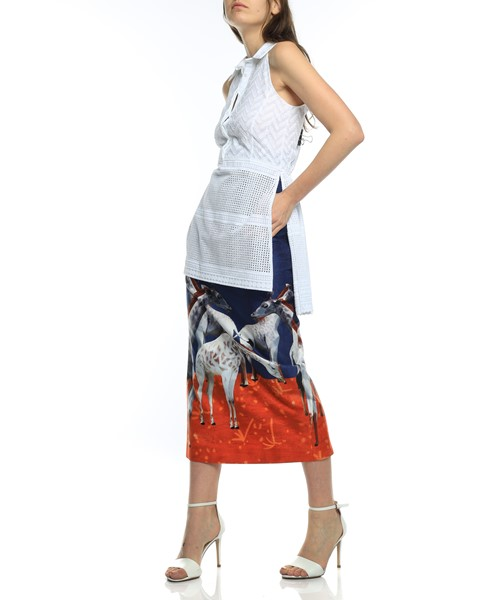 Picture of HIGH WAIST MIDI PENCIL SKIRT, Picture 6