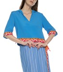 Picture of COTTON STRIPED SKIRT
