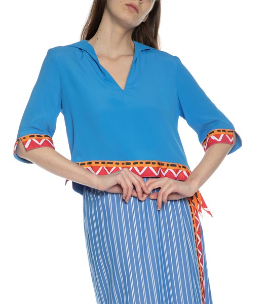Picture of COTTON STRIPED SKIRT, Picture 3
