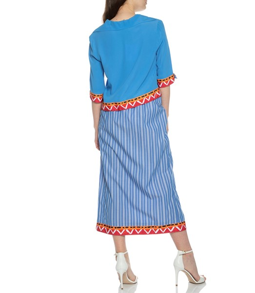 Picture of COTTON STRIPED SKIRT, Picture 4