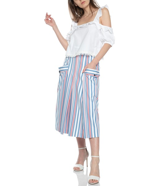 Picture of MIDI SKIRT STRIPED, Picture 2
