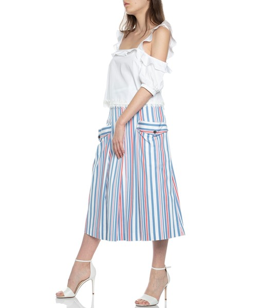 Picture of MIDI SKIRT STRIPED, Picture 3