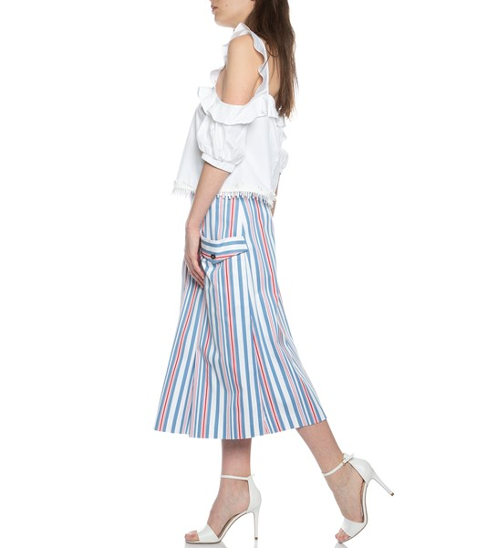 Picture of MIDI SKIRT STRIPED, Picture 4