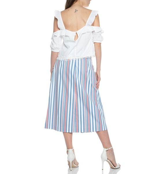 Picture of MIDI SKIRT STRIPED, Picture 6