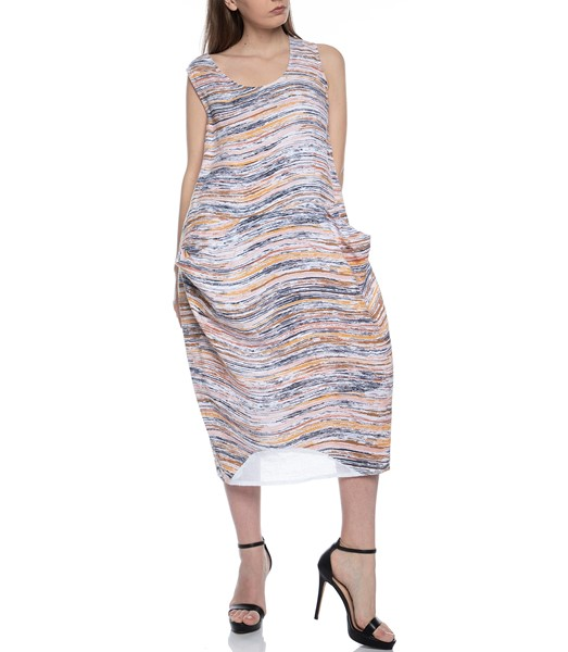 Picture of DRESS EARTH WAVE PRINT, Picture 2