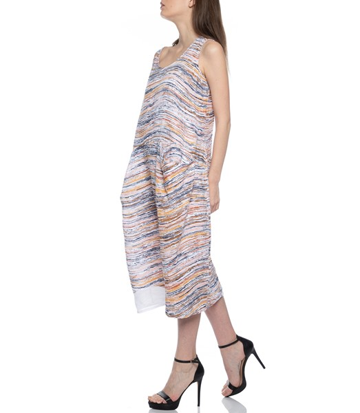Picture of DRESS EARTH WAVE PRINT, Picture 4