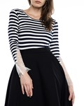 Picture of STRIPED LACE LONG SLEEVES