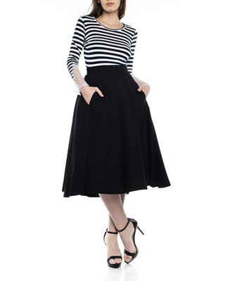 Picture of BACK FOLD WIDE SKIRT