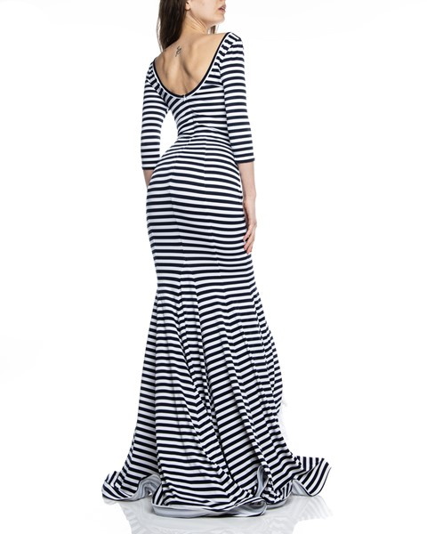 Picture of MAXI DRESS RUCHED STRIPED, Picture 5