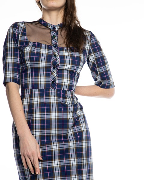 Picture of MIDI CHECKED DRESS, Picture 3