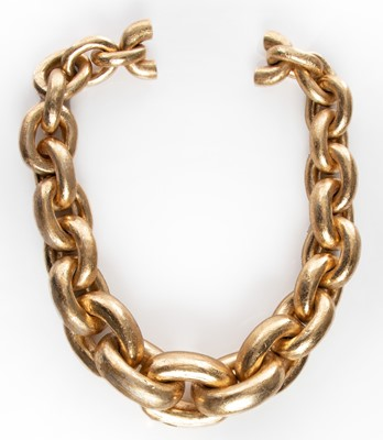 Picture of CHUNKY GOLD FOIL CHAIN NECKLACE