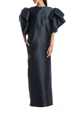 Picture of BLACK MIKADO DRESS