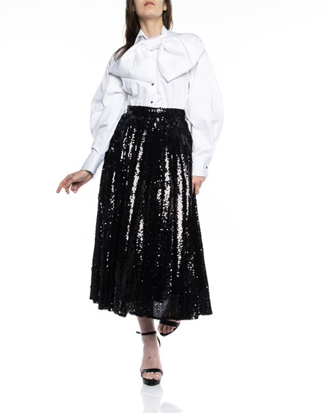 Picture of PLEATED SEQUIN SKIRT, Picture 1