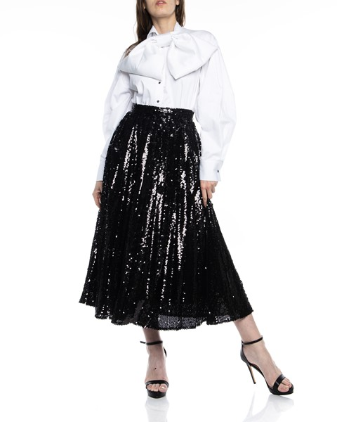 Picture of PLEATED SEQUIN SKIRT, Picture 2