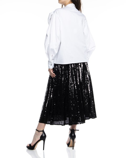 Picture of PLEATED SEQUIN SKIRT, Picture 3