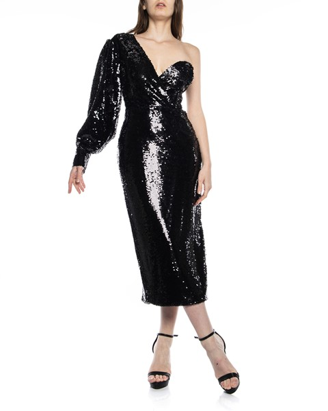 Picture of SINGLE ARM SEQUIN DRESS WITH CORSET, Picture 1