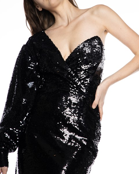 Picture of SINGLE ARM SEQUIN DRESS WITH CORSET, Picture 4