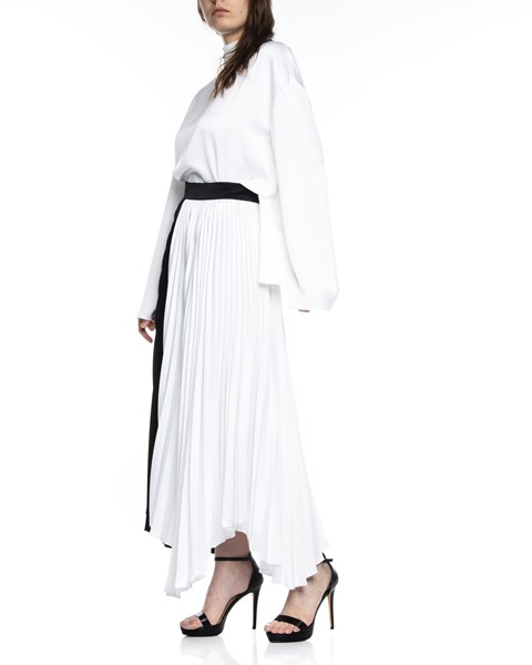Picture of ASYMMETRIC BI COLLAR PLEATED SKIRT, Picture 4