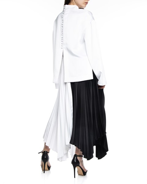 Picture of ASYMMETRIC BI COLLAR PLEATED SKIRT, Picture 5