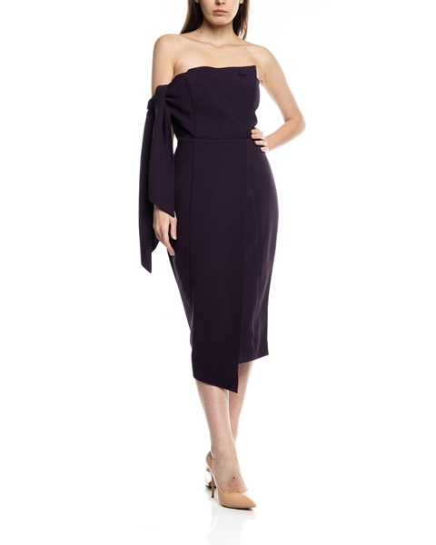 Picture of ROMI STRUCTURED MIDI  DRESS, Picture 1