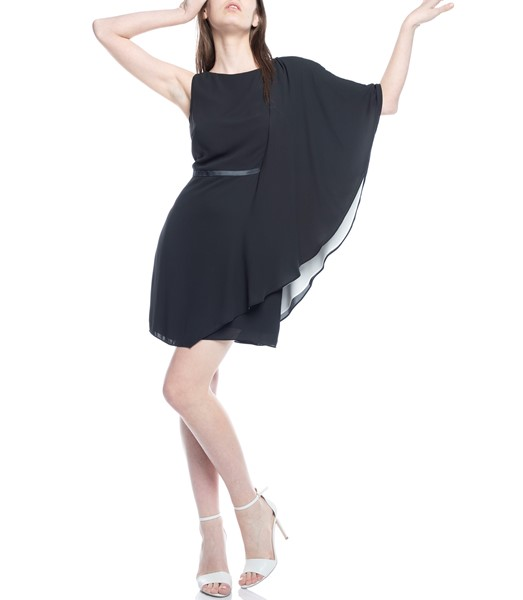Picture of ASYMMETRIC DRAPED SLEEVE DRESS, Picture 2