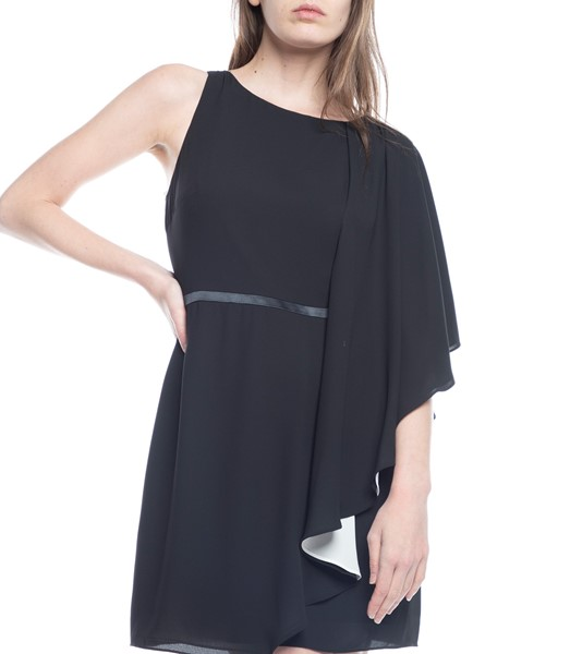 Picture of ASYMMETRIC DRAPED SLEEVE DRESS, Picture 3