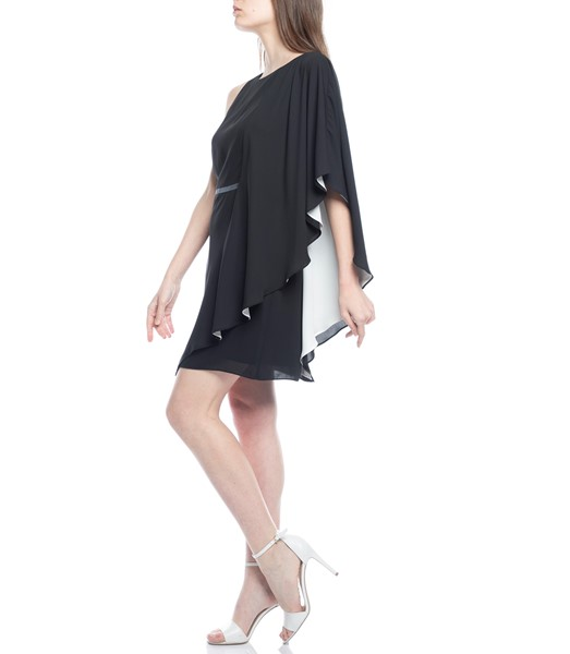 Picture of ASYMMETRIC DRAPED SLEEVE DRESS, Picture 4