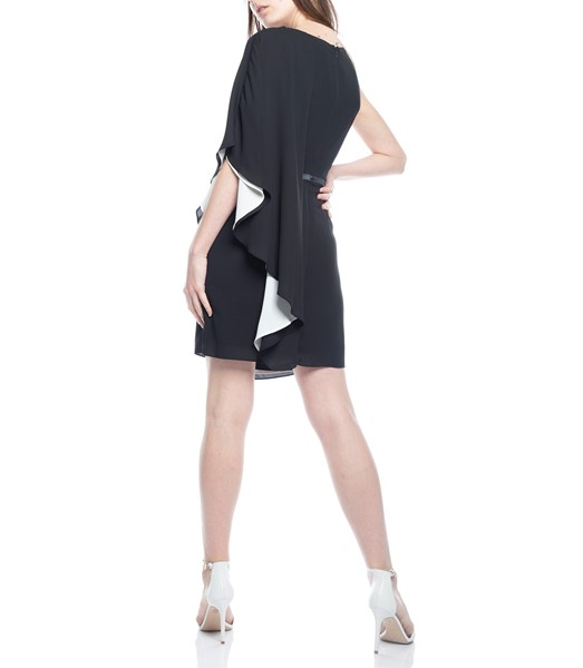 Picture of ASYMMETRIC DRAPED SLEEVE DRESS, Picture 6