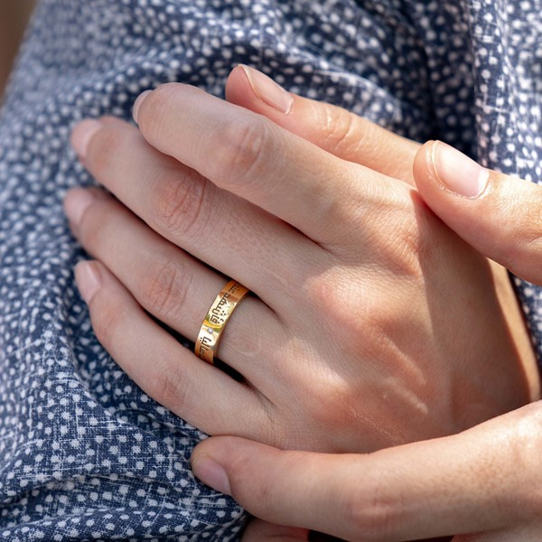Picture of LOVE RING YELLOW, Picture 2