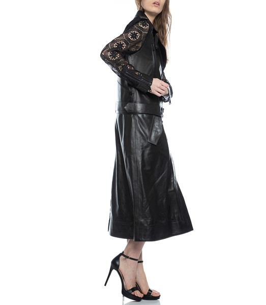 Picture of TWO-FER BIKER TRENCH LACE COMBO , Picture 4
