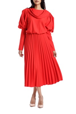 Picture of DRESS WITH PLEAT