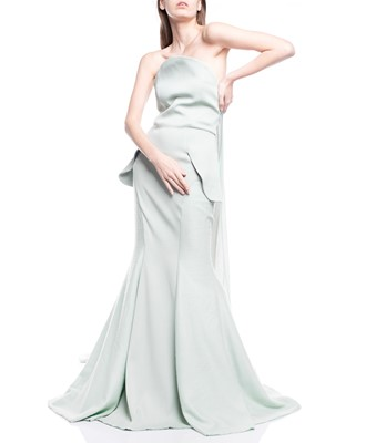 Picture of LONG DRESS LIGHT GREEN