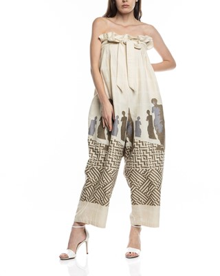 Picture of PHAISTOS HIGH WAISTED TROUSERS