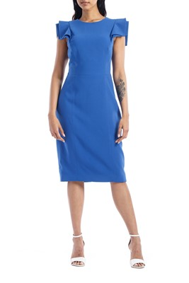 Picture of SLIM FIT DRESS COBLAT