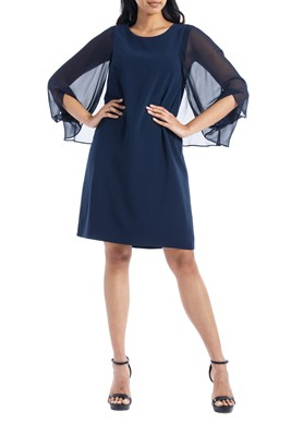 Picture of BLOUSON SLEEVE DRESS