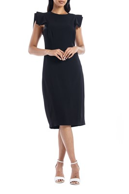 Picture of SLIM FIT DRESS BLACK