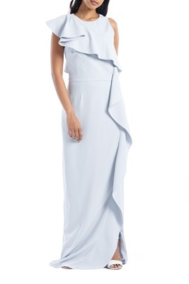 Picture of FLOUNCE CREPE GOWN
