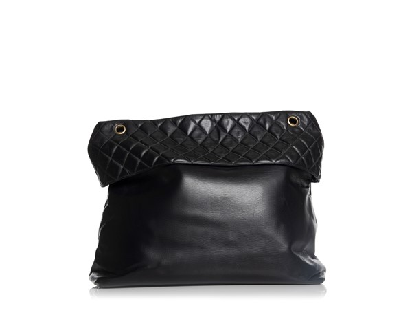 Picture of VINTAGE CHANEL LARGE QUILTED TOP BAG, Picture 3
